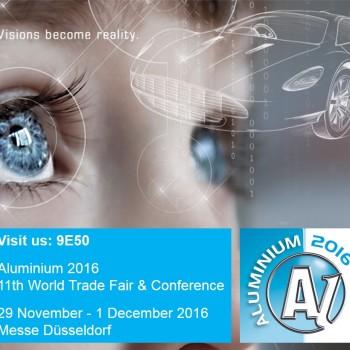Exhibition: Aluminium 2016 (2016/11/29 - 2016/12/01)